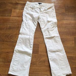 Banana Rupublic white jeans